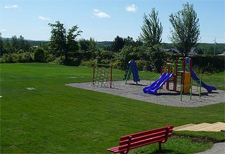 Espaces verts, aménagement parc, tourbe, semence, jeux gazon